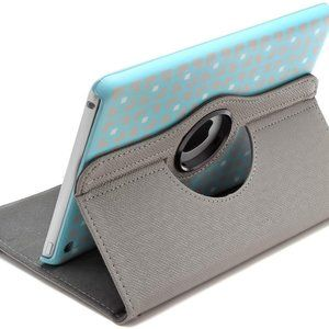 Rotating Stand Case for Apple iPad Mini - Turquois